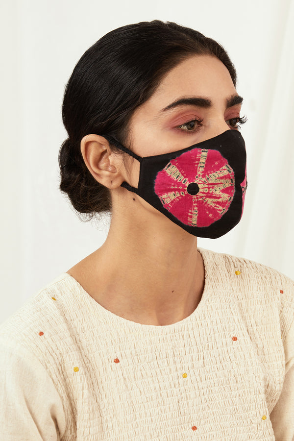 Gulaabo Tie Dyed Masks (Set of 2)
