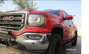 GMC Sierra - Off road Steel Side sliders