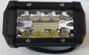 2 X  LED Light Pods 4-Inch Amber White 12800-Lumen.