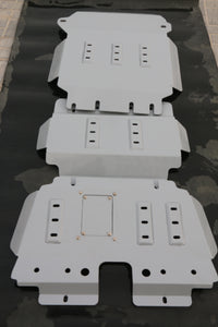 NP Y62 Skid Plate set of 3 pcs