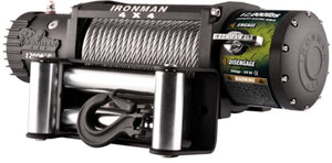 Iron Man Winch - Synthetic rope - 12000 LBS