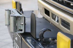 Brackets for fairlead and winch mount