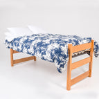 On-Campus Full XL Leopard Dorm Bed