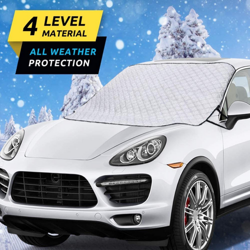 SnowShade™ Premium Windshield Snow Cover Sunshade