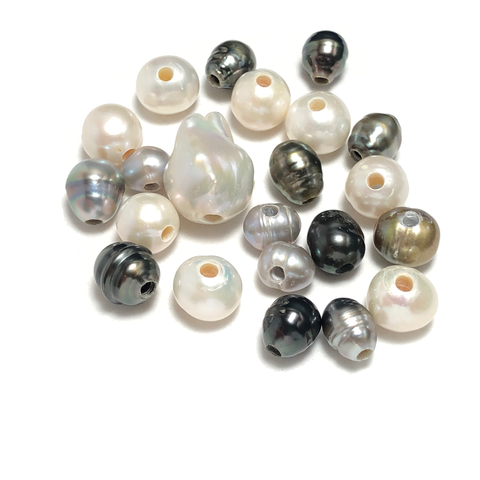 Large Hole Pearls