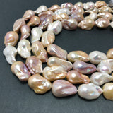 Baroque Pearls 14-17mm AAA Grade Natural Mix Color