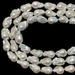 Baroque Pearls AA Grade14-17mm White