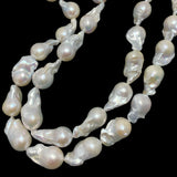 Baroque Pearls 15-18mm White