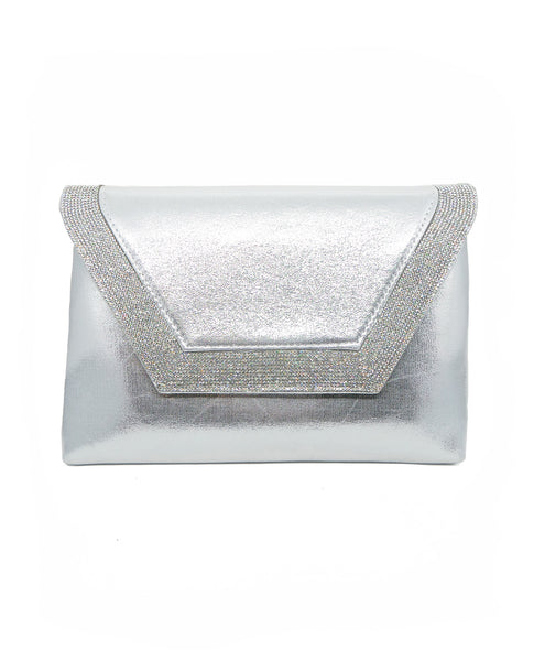 Diamond Rim Envelope Clutch