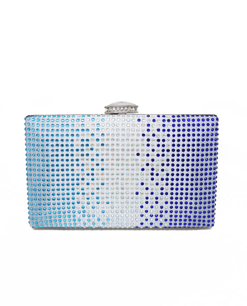 Gradient Stones Box Clutch