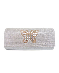 Crystals Butterfly Clutch