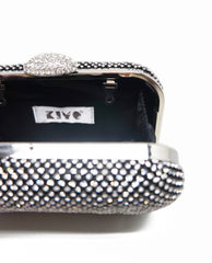 Diamond Mesh Box Clutch
