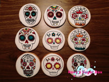 Load image into Gallery viewer, Sugar Skull Cookies each