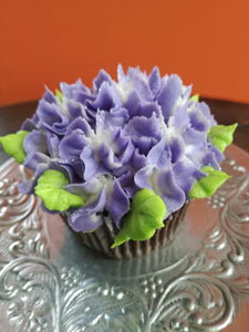 Purple Rose Cupcakes Gift Box MADE TO ORDER