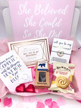 Load image into Gallery viewer, Will You Be My Bridesmaid Gift Box, Bridesmaid Hug in a box, Bridesmaid Care Package