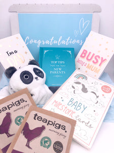 New Parents Gift Box, Care Package For New Parents