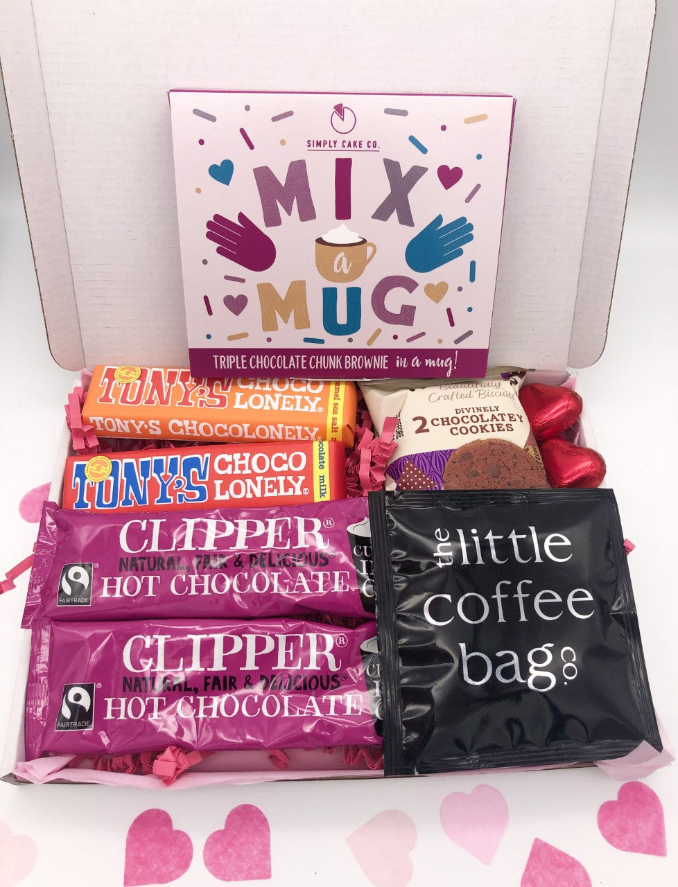 Chocolate Lover Box, Chocolate Gift Box, Care Package Of Chocolate