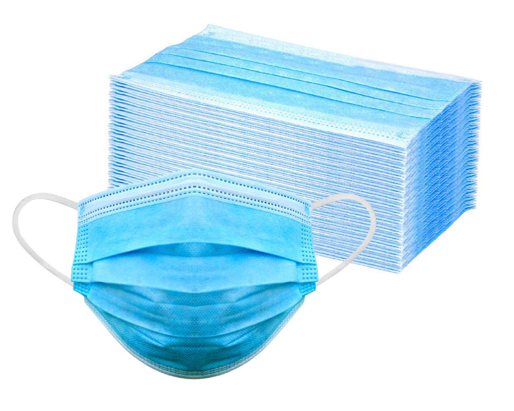 3 Ply Disposable Face Mask ( 100 Pack)
