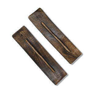Wooden Incense Burners - Wide