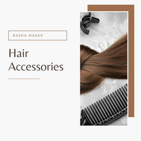 hair accessories - rashamakeup