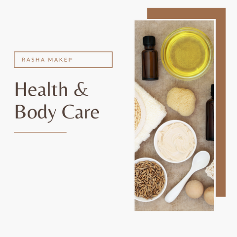 health & body care - rashamakeup