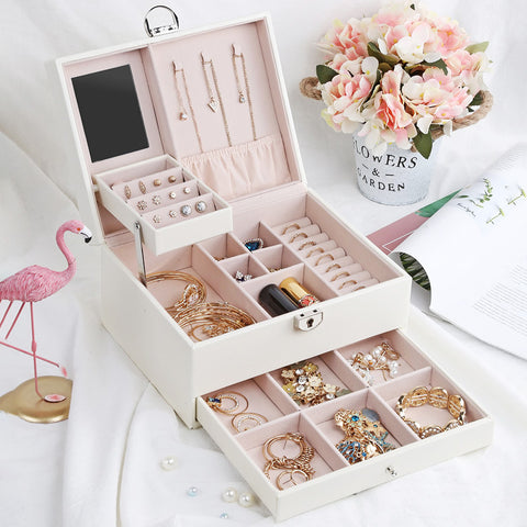 Large Jewelry Organizer box - rashamakeup