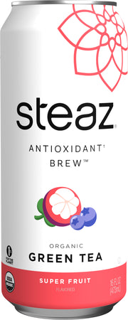 Steaz - Super Fruit Green Tea