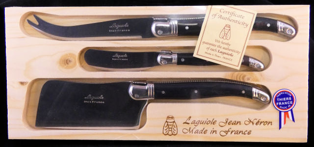 Laguiole 3-piece Cheese Set