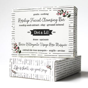 Dot & Lil Rosehip Facial Cleansing Bar