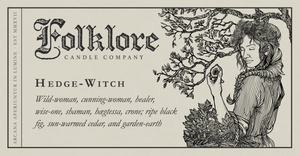 Hedge-Witch by Folklore Candle Co.