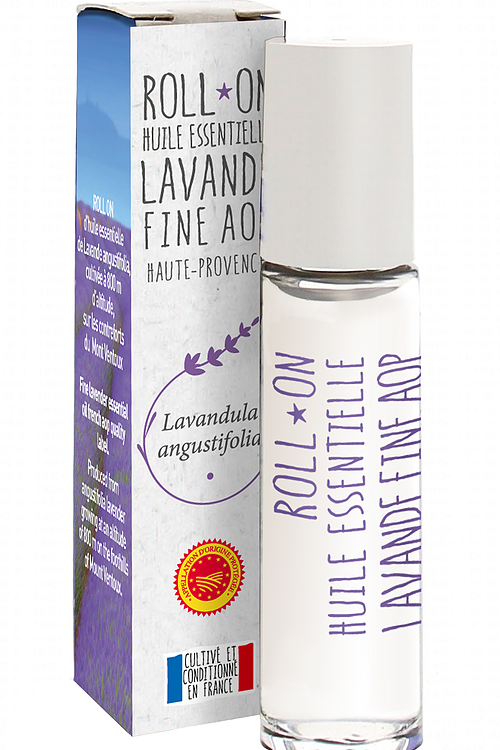 Lavender Essential Oil Roll-On - AOP Fine