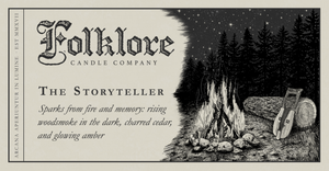 The Storyteller by Folklore Candle Co.