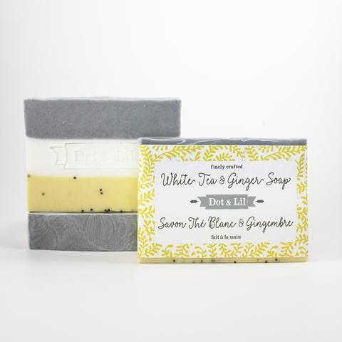 Dot & Lil White Tea & Ginger Soap