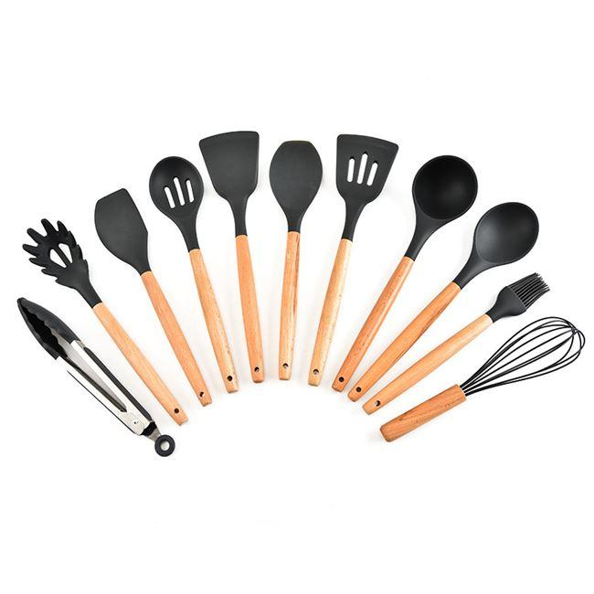 11 Piece Silicone Utensils Set - Simple Households