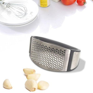 Stainless Steel Garlic Press - simplehouseholds