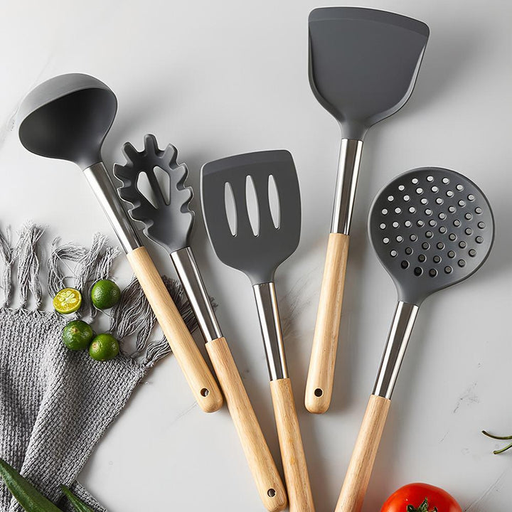 5 Pcs Silicone Utensil Set - Simple Households
