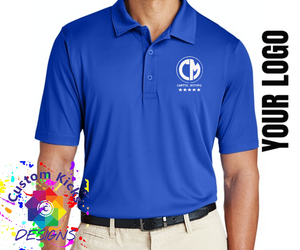 BUSINESS POLO SHIRT WITH YOU LOGO