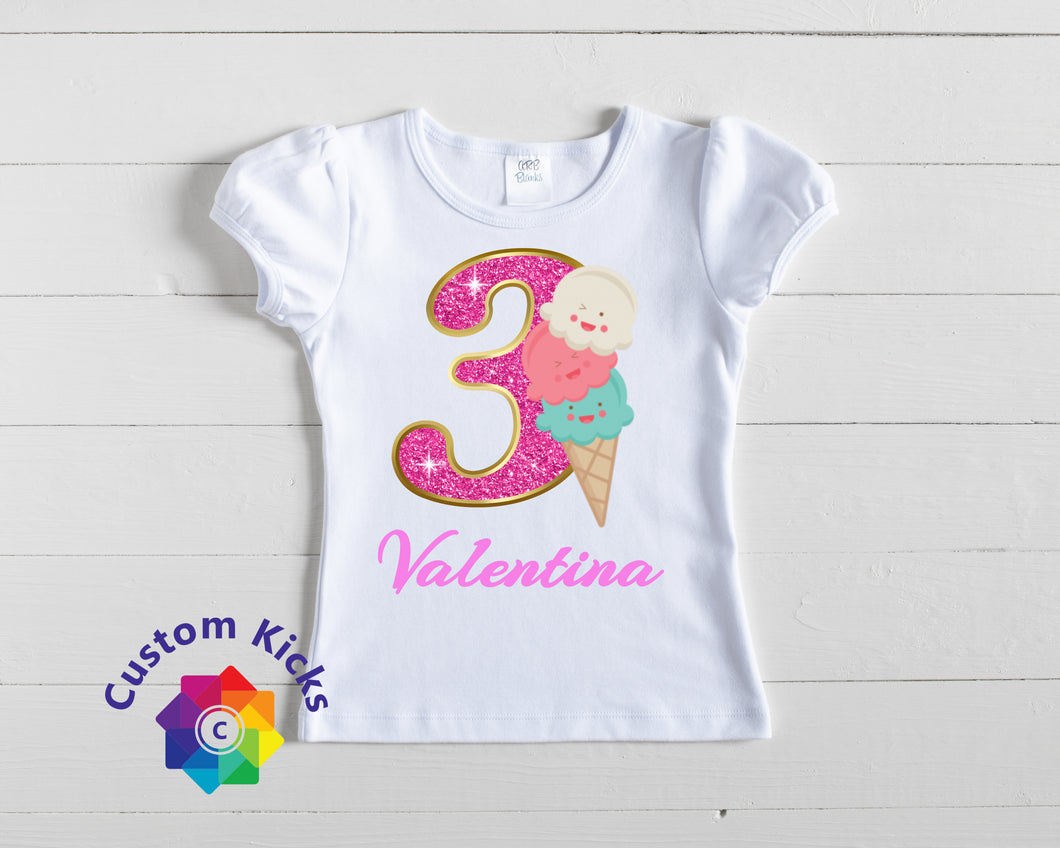 custom ice cream shirt