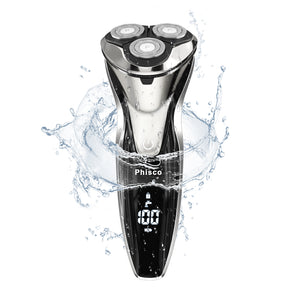Phisco RMS8112 Men's 3D Electric Wet and Dry Shaver
