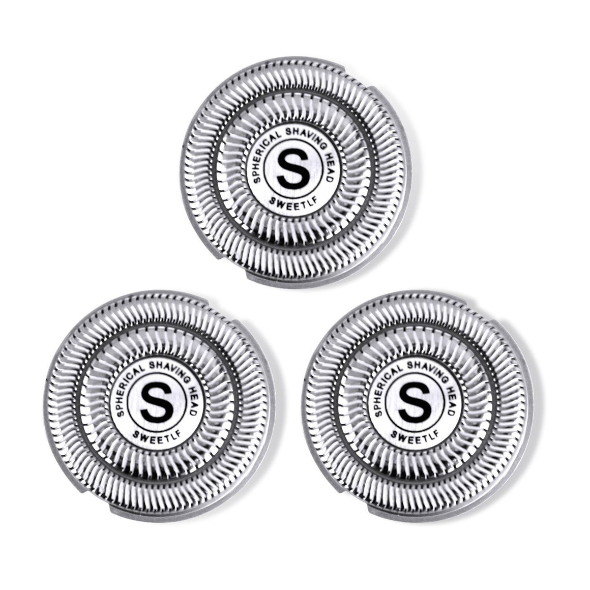 SweetLF 3 Pcs Replacement Shaver Head Blade Cutters for Mens Electric Shaver