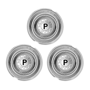 Phisco Shaver Replacement Head Blade 3 Pcs