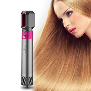 Electric Hair Dryer Blow Dryer Hair Curling Iron Rotating Brush Hairdryer Hairstyling Tools Professional 5 In 1 hot-air brush