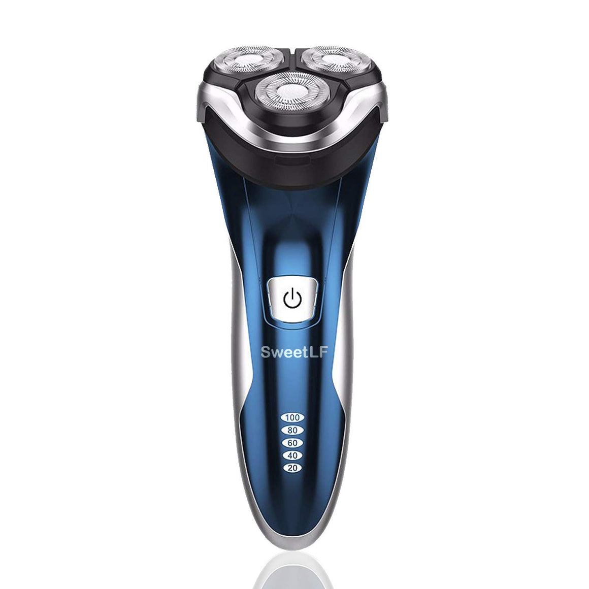 SweetLF 3D Rechargeable 100% Waterproof IPX7 Electric Shaver Wet & Dry Rotary Shavers