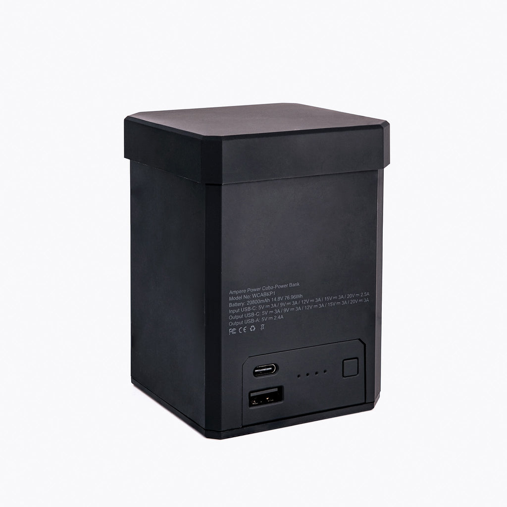 Power Cube, 20,800 mAh High Capacity Power Bank