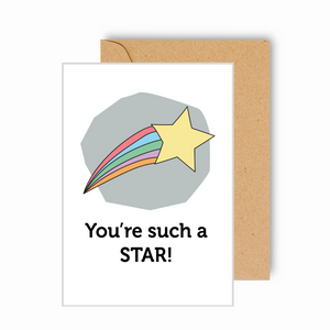 You're Such a Star! Card