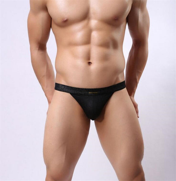 BRAVE PERSON Solid Color G-String