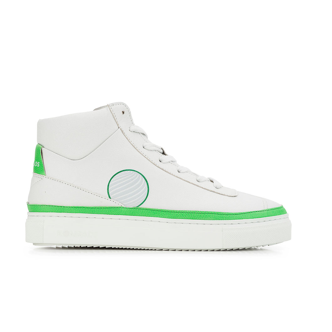 Vegan sneaker green high