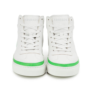 Vegan sneaker green high2