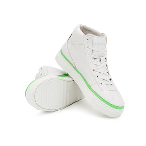 Vegan sneaker green high1