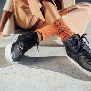 vegan sneakers black2 high